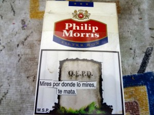 Zigarettenwerbung Argentinien