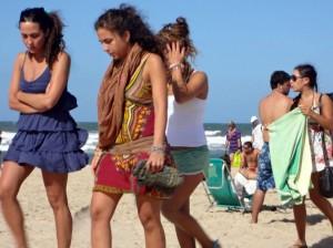 Vintage Style Strandmode Südamerika