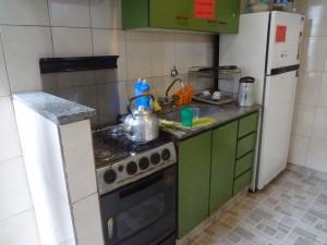 Küche Meta Tango Hostel