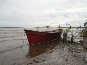 Hausboot in Uruguay