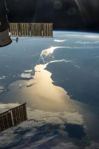 ISS: Tolles Foto vom Sonnenaufgang über dem Rio de la Plata – die schönste Fototapete