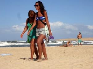 Kubanerinnen am Strand