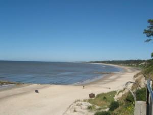 Rio de la Plata Strand in Uruguay