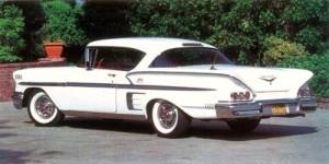 Chevrolet-Impala Baujahr 1958