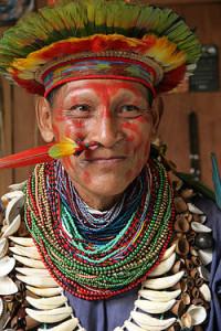 Schamane Amazonas