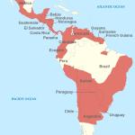 Chargas Parasiten Verbreitung Karte