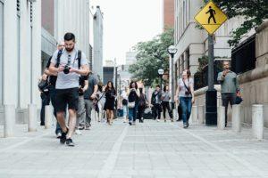 Tourismus Masse