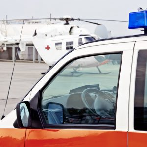 Ambulanzflug Südamerika